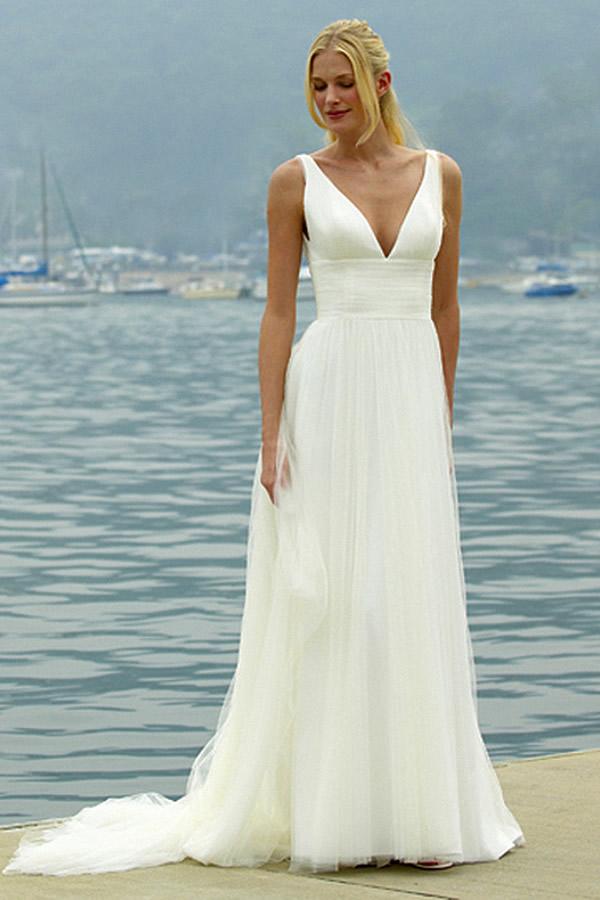 Augusta Jones Isola wedding gown – Ivory Tower