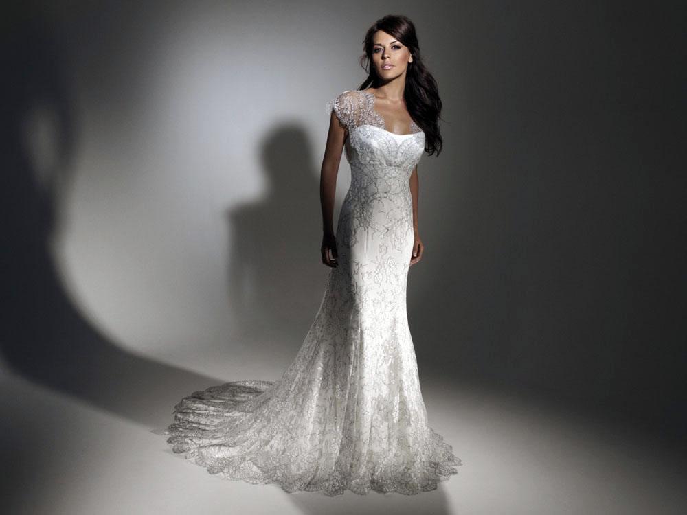 Suzanne Neville Maiden wedding gown – Ivory Tower