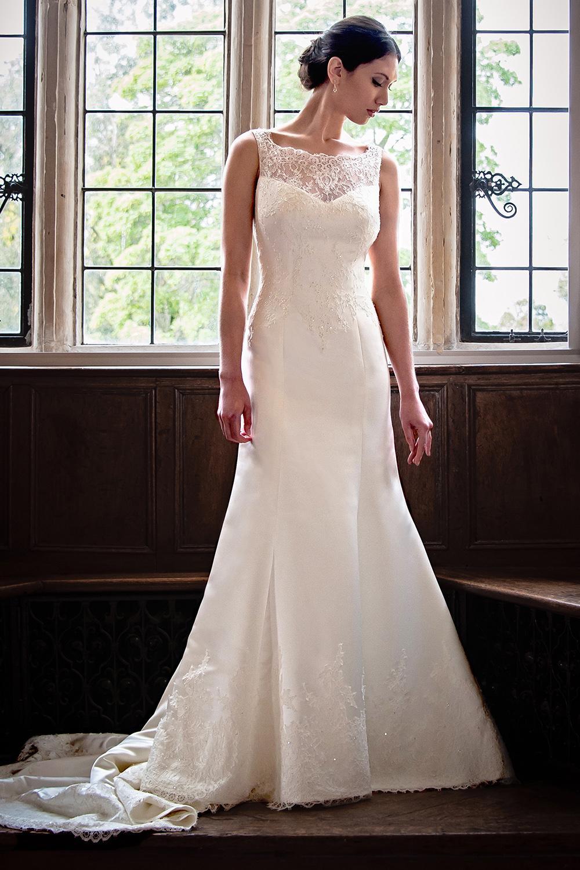Augusta Jones London wedding gown – Ivory Tower